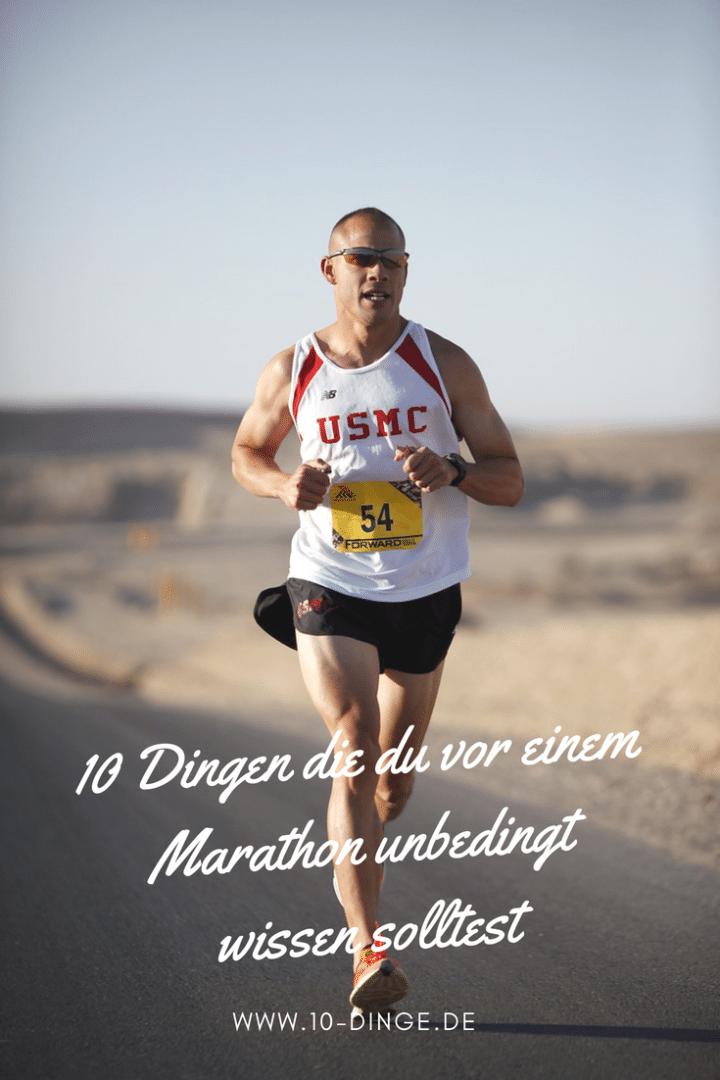 10 Dinge, die du vor einem Marathon unbedingt wissen solltest