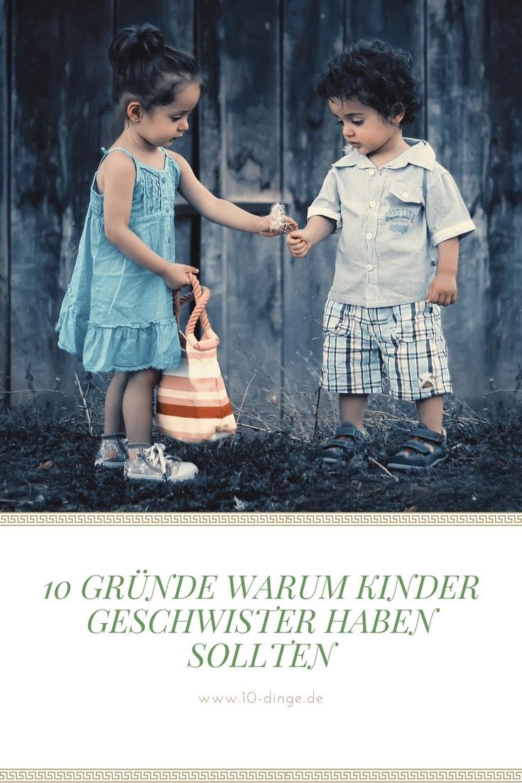10 Gründe warum Kinder Geschwister haben sollten