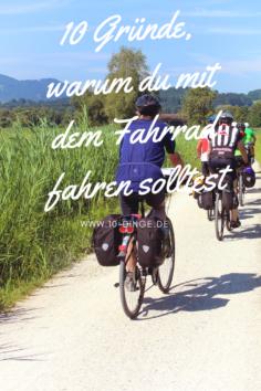 10 Gründe, warum du mit dem Fahrrad fahren solltest