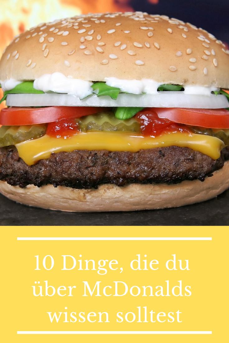 10 Dinge, die du über McDonalds wissen solltest