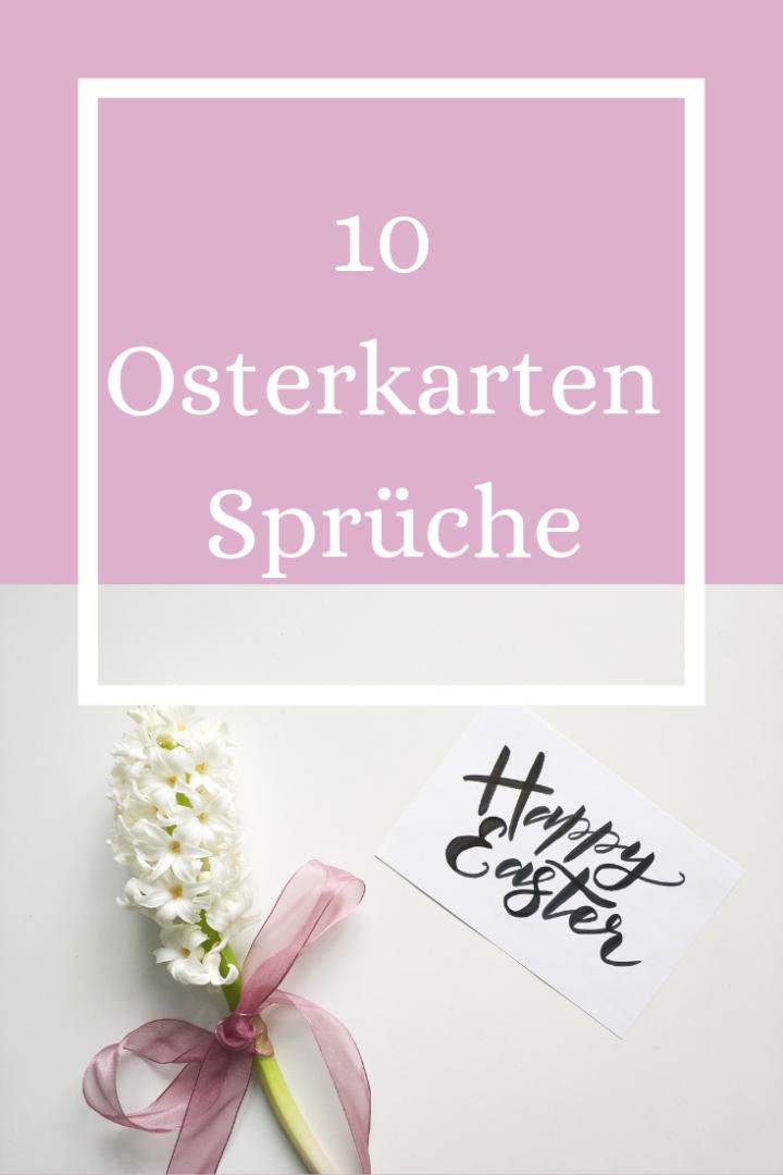 10 Osterkarten Sprüche