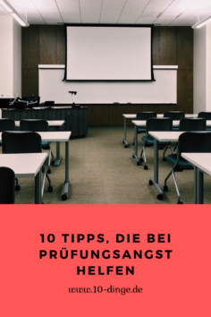10 Tipps, die bei Prüfungsangst helfen