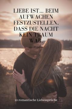 10 romantische Liebessprüche