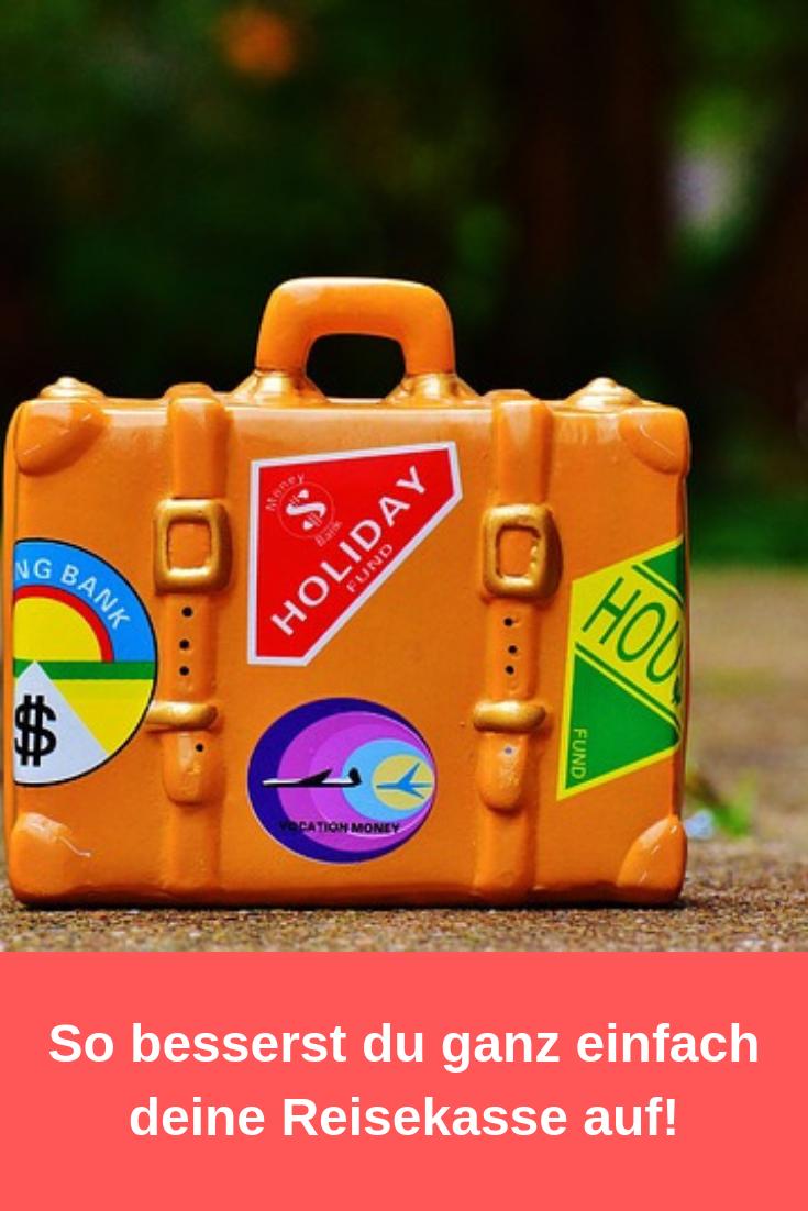 So besserst du deine Reisekasse auf