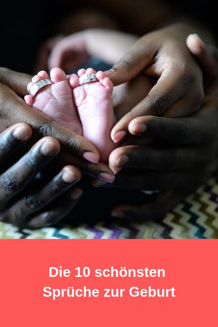 Die 10 besten Sprüche zur Geburt