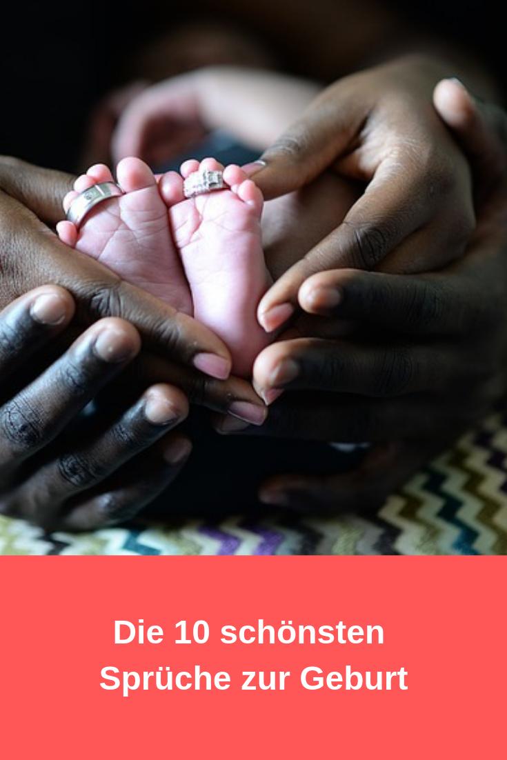 10 Sprüche zur Geburt