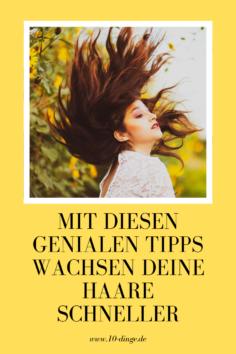 Mit diesen genialen Tipps wachsen Deine Haare schneller