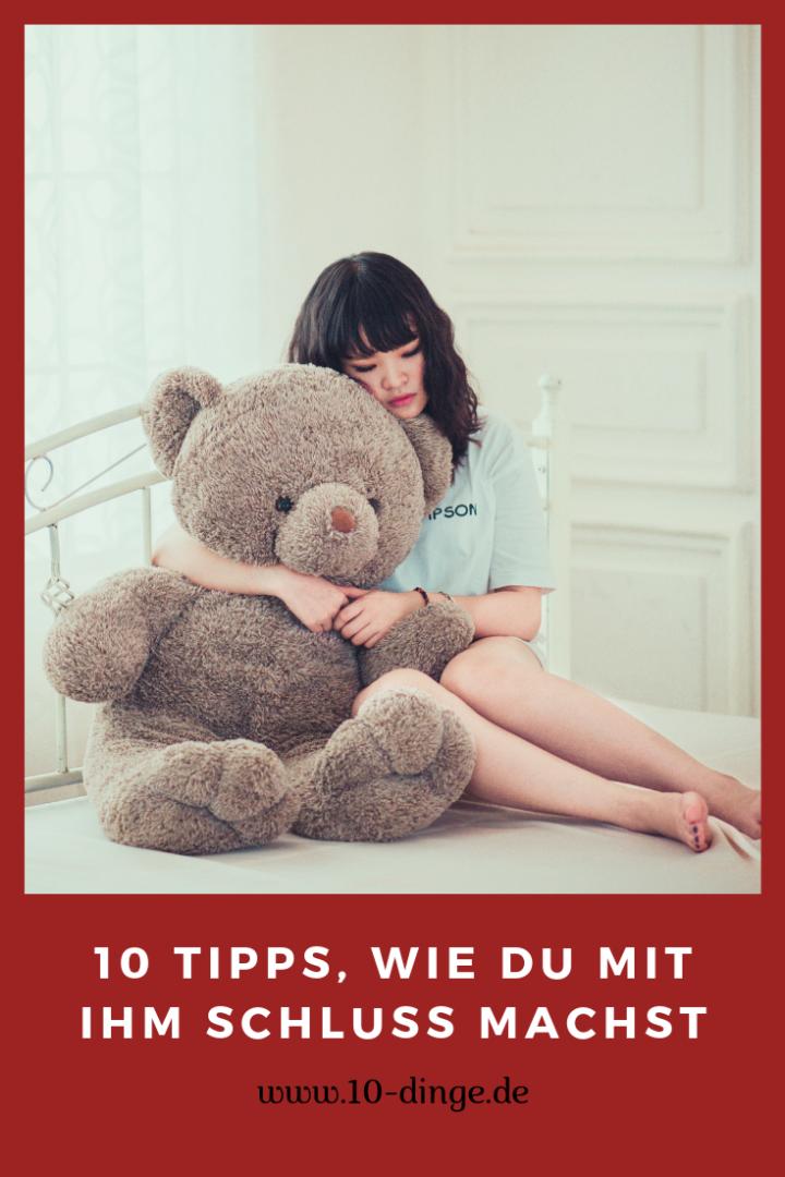 10 Tipps, wie Du mit ihm Schluss machst