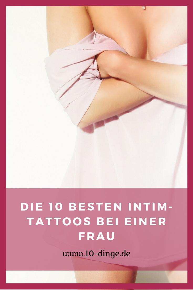 Die 10 besten Intim-Tattoos bei einer Frau