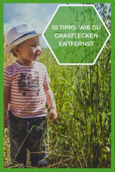 10 Tipps, wie Du Grasflecken entfernst