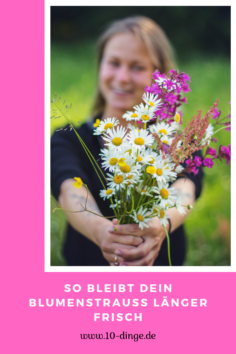 So bleibt Dein Blumenstrauß länger frisch