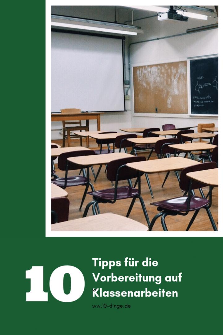 10 Tipps für die Vorbereitung auf Klassenarbeiten