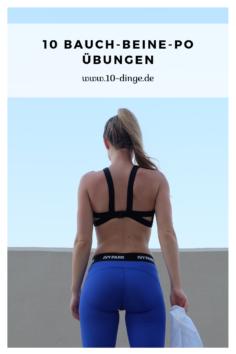 10 Bauch-Beine-Po Übungen