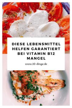 Diese Lebensmittel helfen garantiert bei Vitamin B12 Mangel