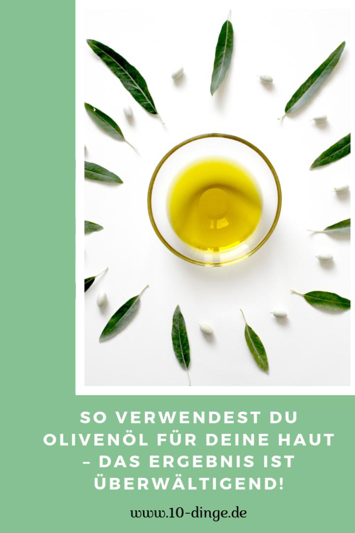 So verwendest du Olivenöl für deine Haut – das Ergebnis ist überwältigend!