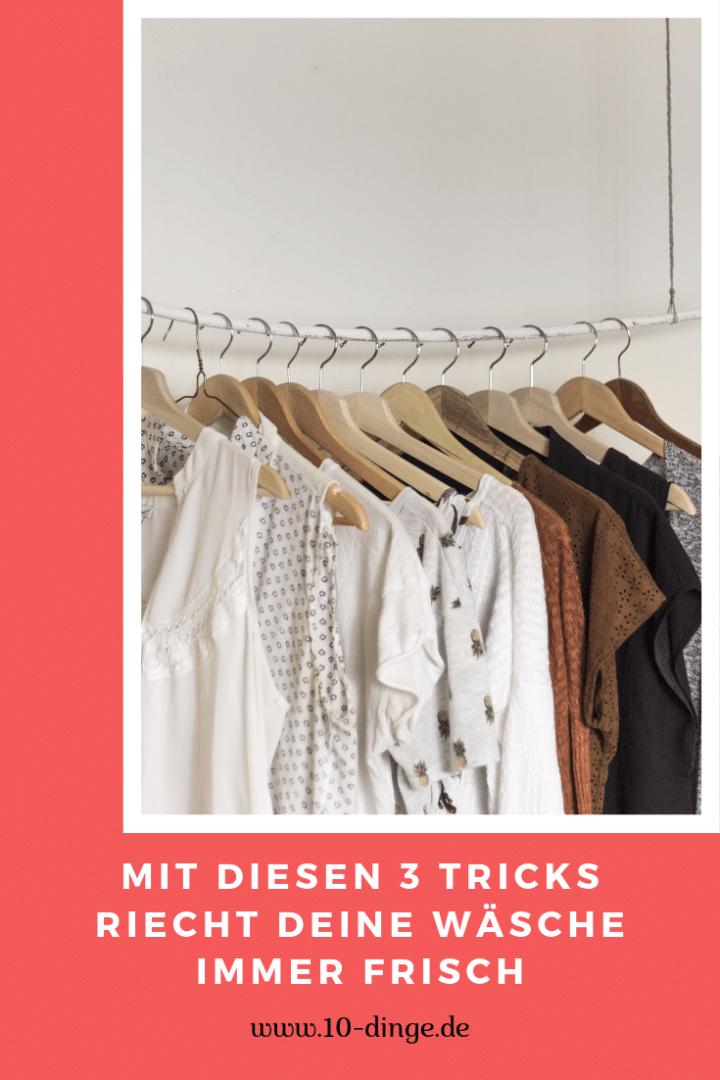 Mit diesen 3 Tricks riecht Deine Wäsche immer frisch