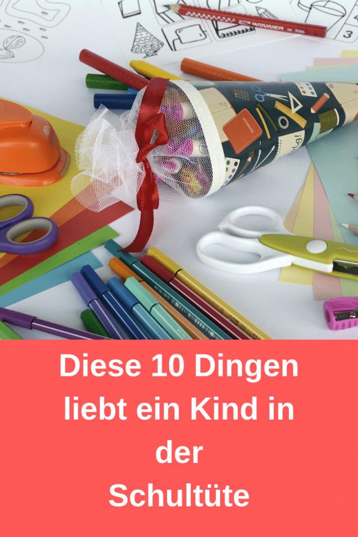 10 Dinge, die in eine Schultüte gehören
