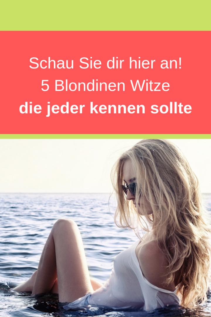 5 Blondinen Witze