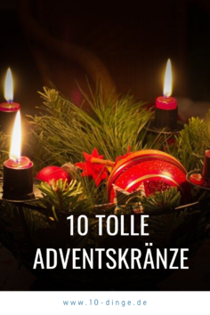 10 tolle Adventskränze