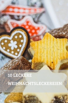 10 leckere Weihnachtsleckereien